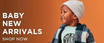 Baby New Arrivals. Shop Now.