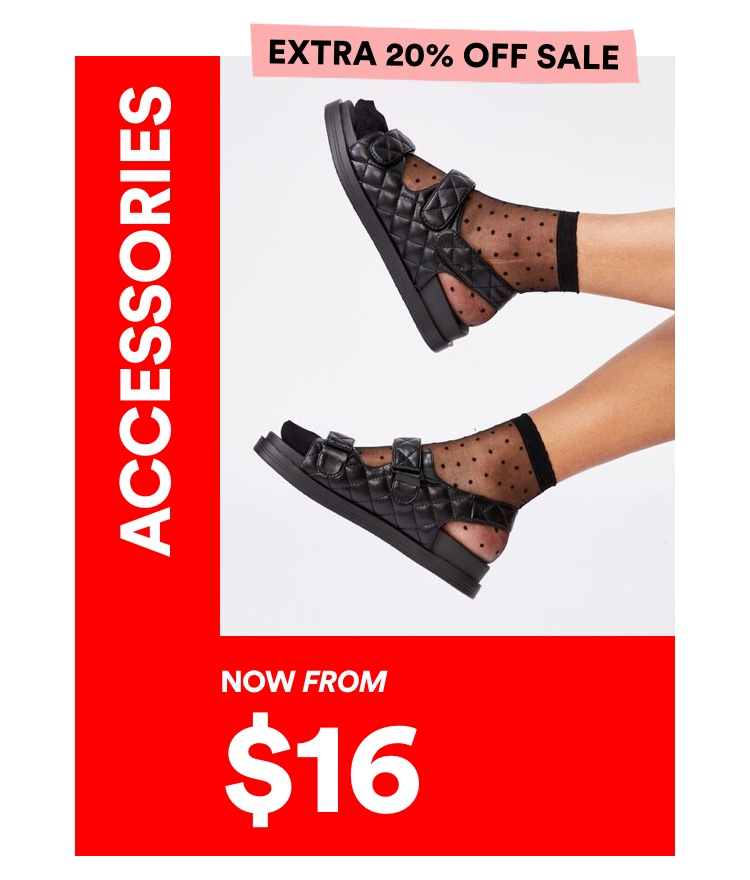 Accessories Now From $5