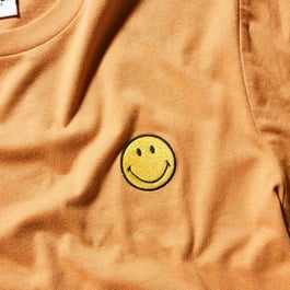 Smiley. Click to shop.