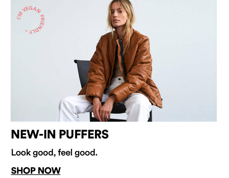Cotton On Women's Puffers. Click to shop.