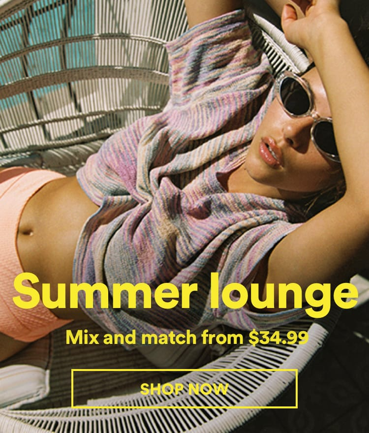 Cotton On Summer Lounge. Click to shop.