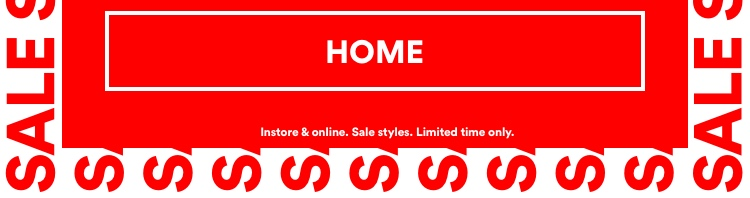 50% Off Sale. Click To Shop Home