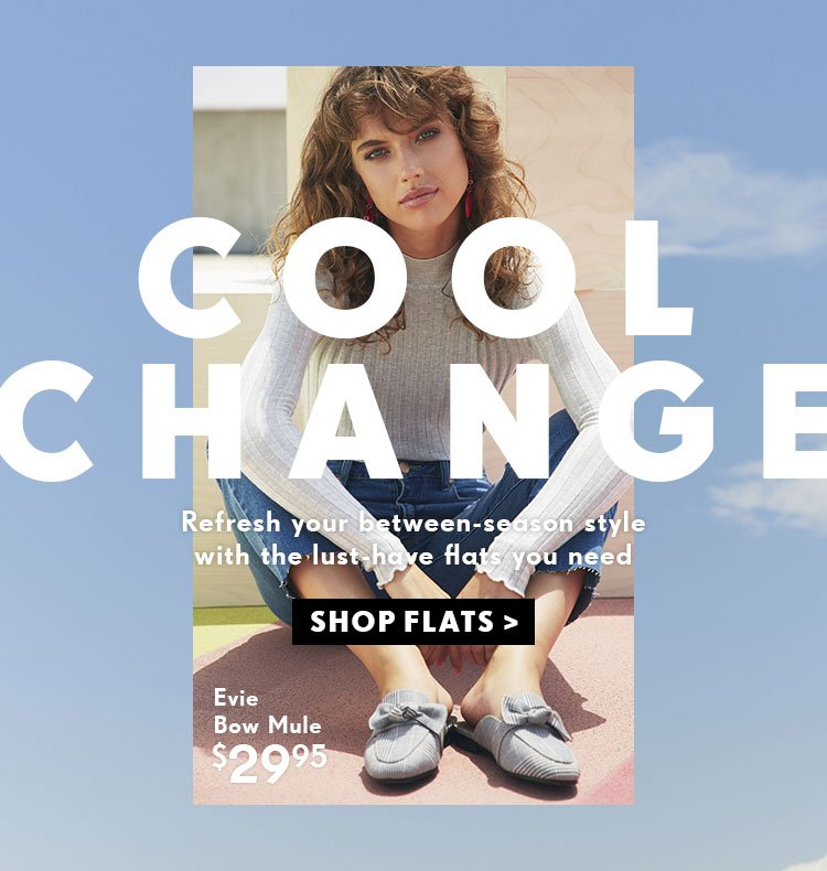 Cool Change | Shop Flats Online