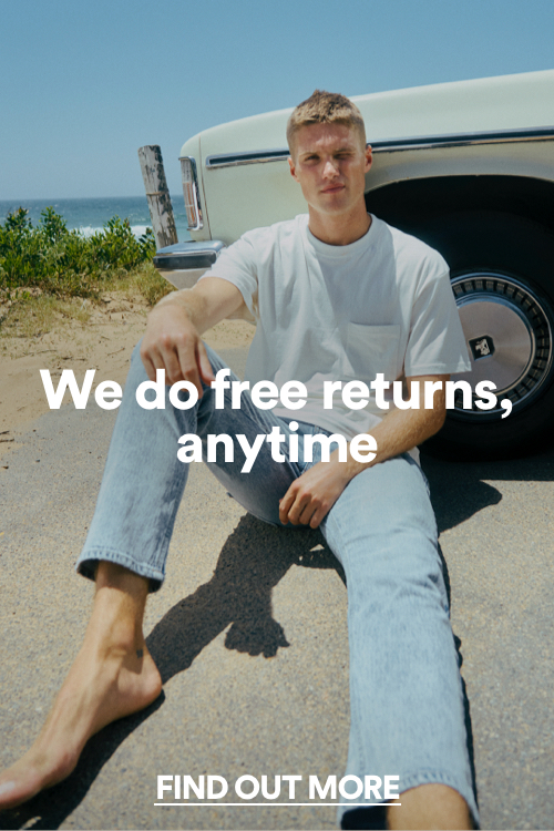 We do free returns, anytime. Click to find out more.