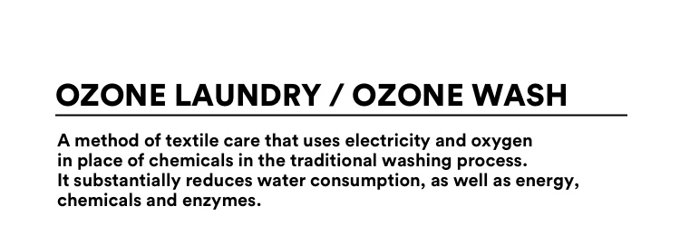 The Good Ozone laundry and ozone wash.