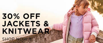 30% off Jackets. Shop Now.