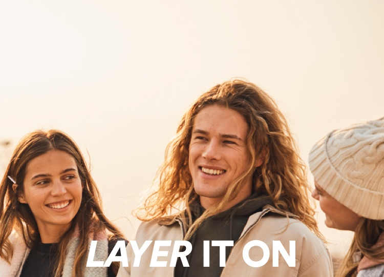 Layer it on. Shop Now.