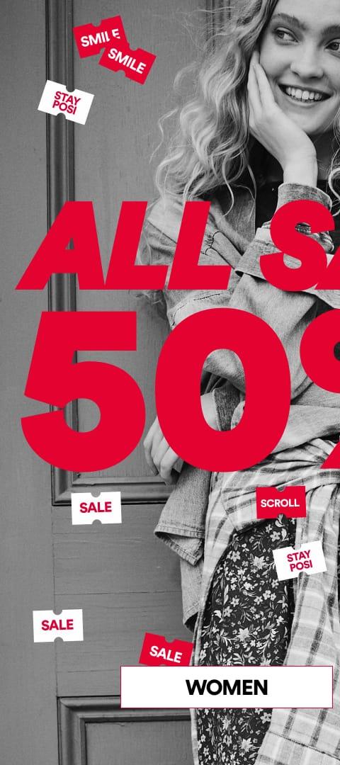 Women's Sale 50-70% Off. Click to shop.