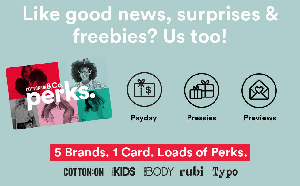 Like good news, surprises and freebies?