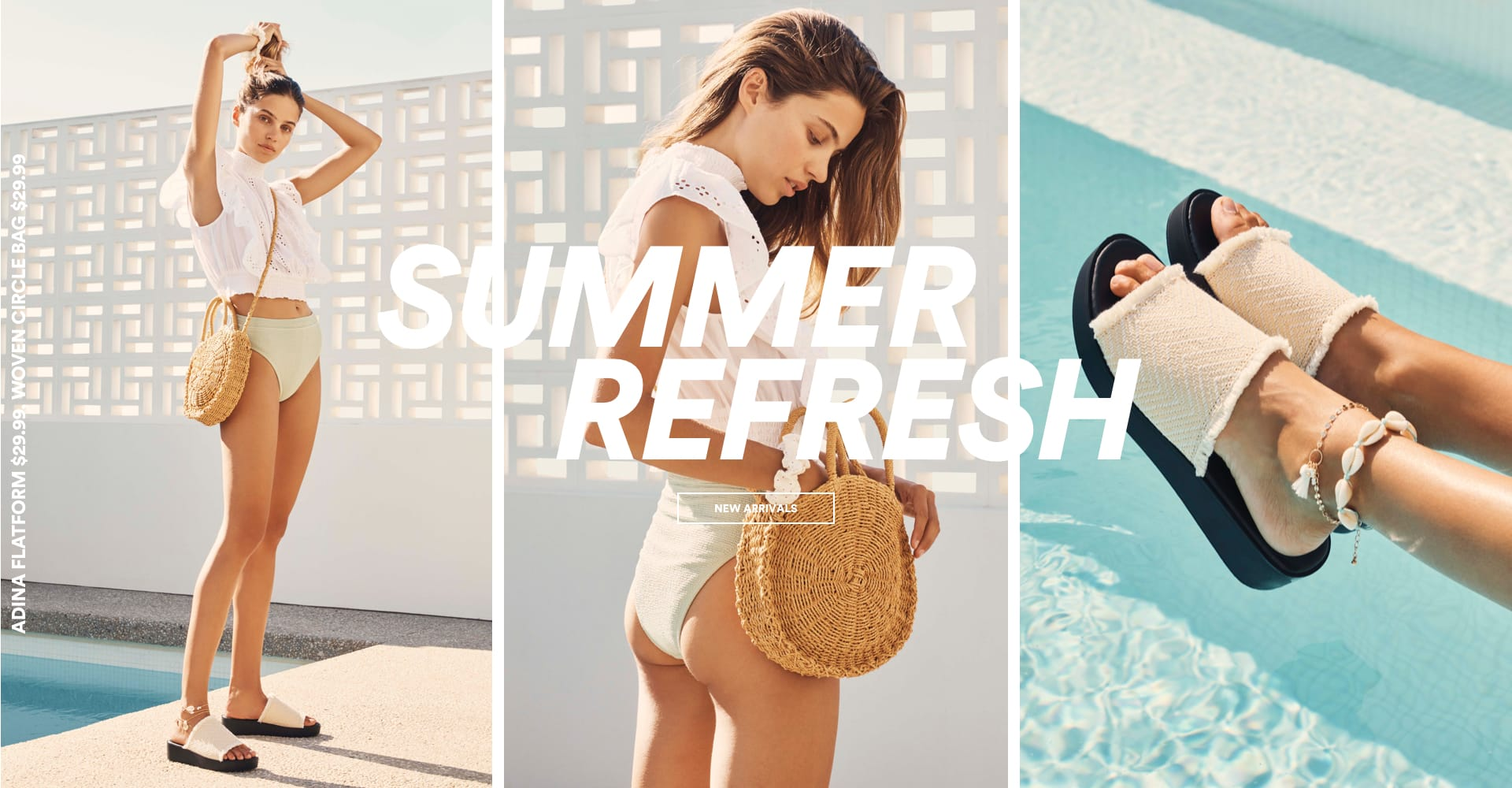 Summer Refresh, Shop New Arrivals.