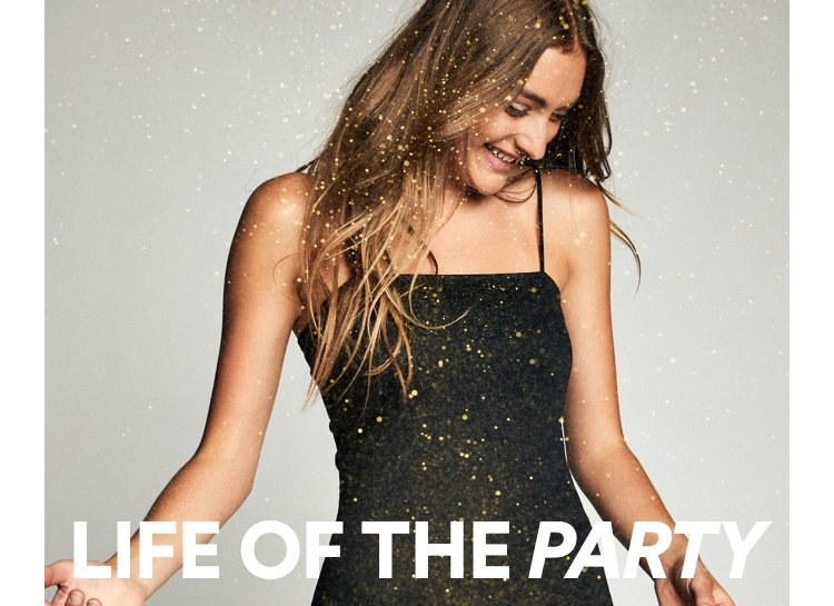 Cotton On. Life of the party. Click to shop.