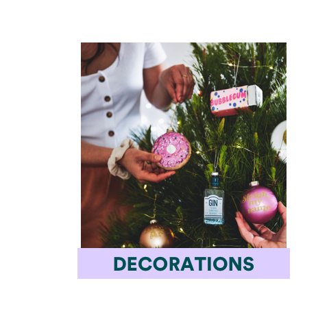 Chistmas Decorations. Click to shop.