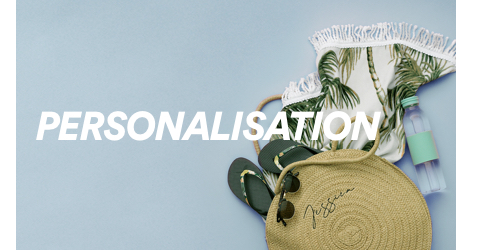 Cotton On. Personalisation. Click to shop.