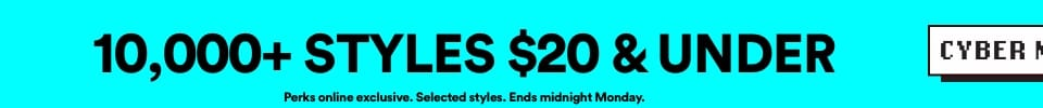10,000 Styles $20 & Under. Click to Shop.
