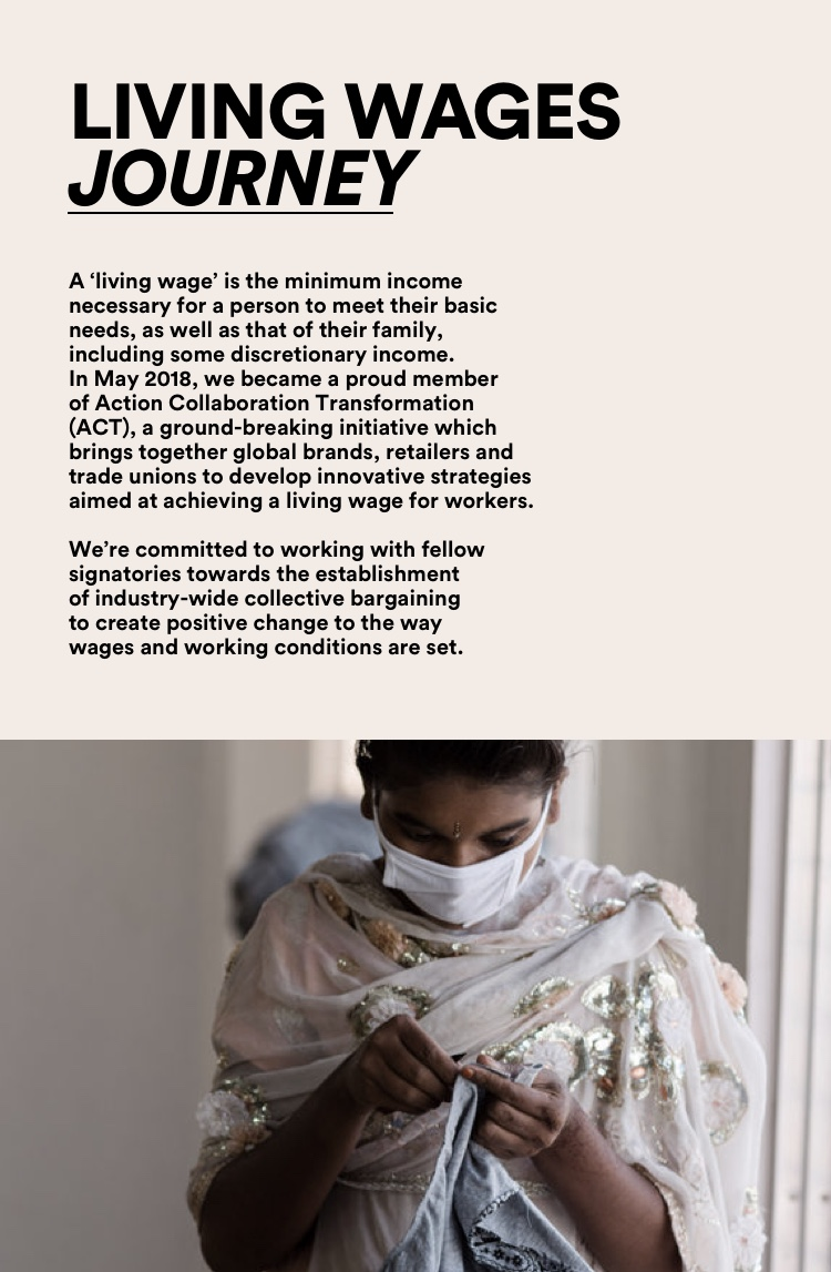 The Good. Living wages journey. Click for more information.