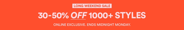 30-50% Off 1000+ Styles. Shop Now.