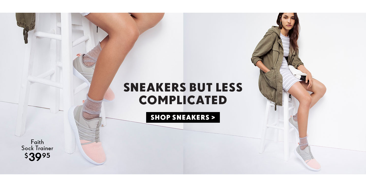 Shop The Trend - Laceless Sneakers | Shop New Season Sneakers