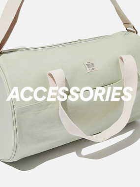 Cotton On Body. Accessories. Click to shop.