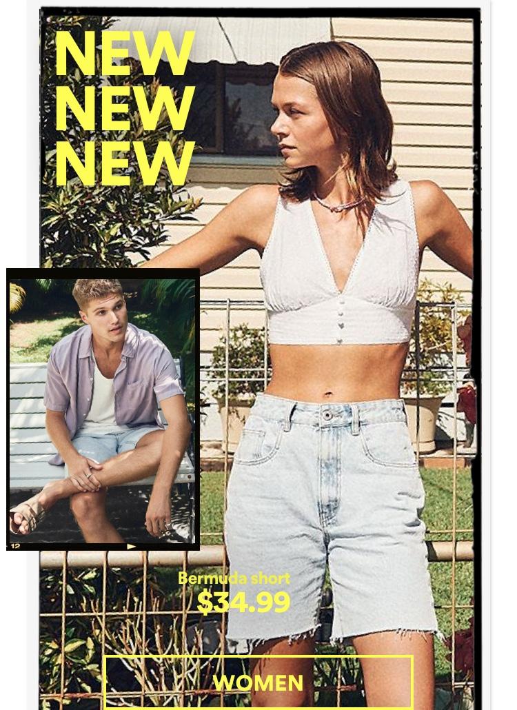 Women's New Arrivals. Click To Shop
