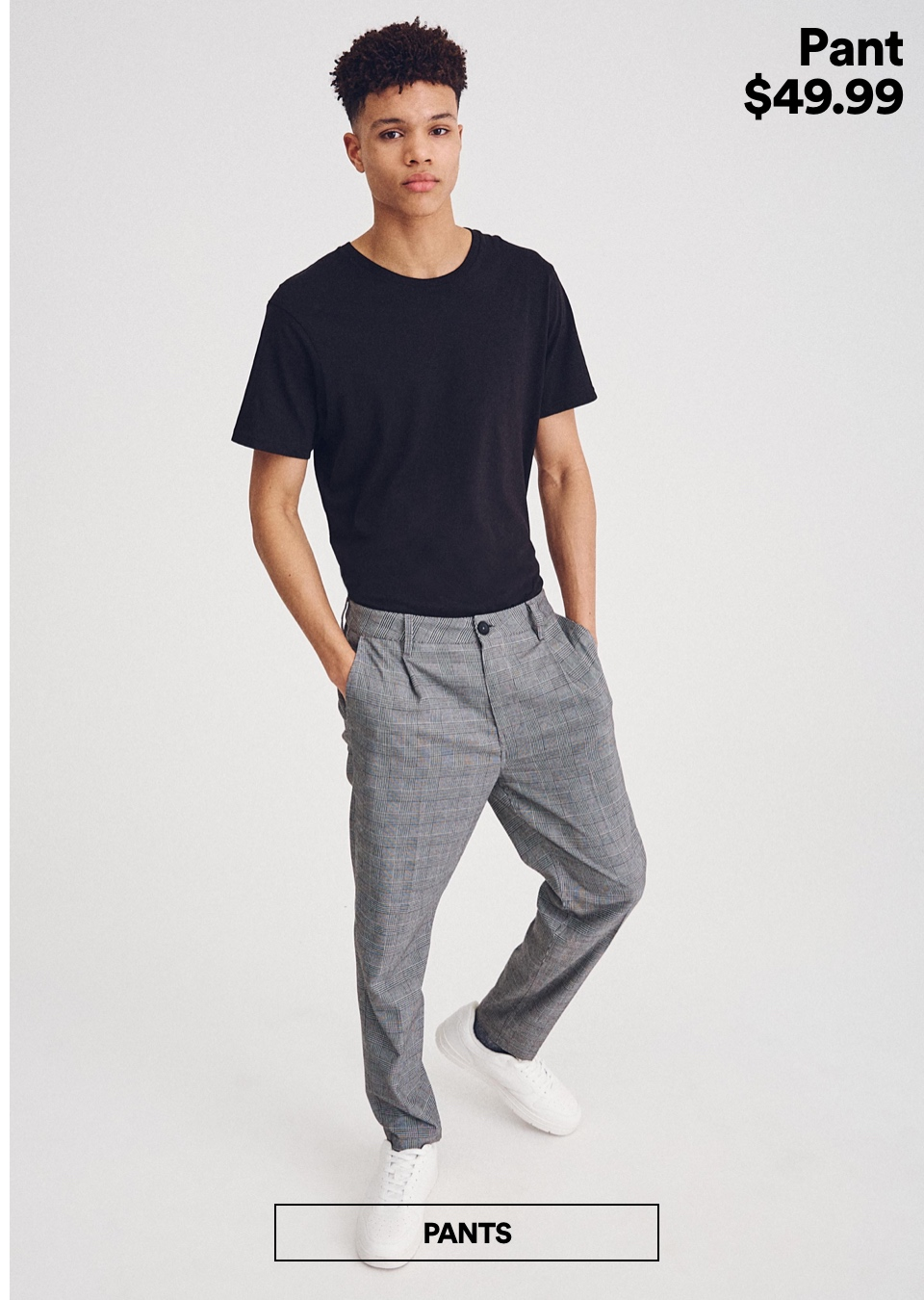 Men's Pants. Click to Shop.