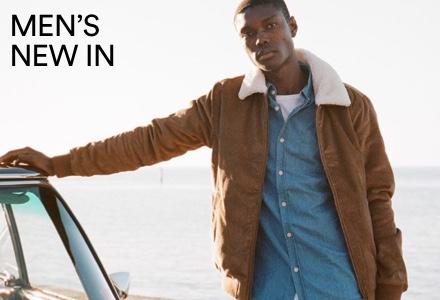 Men's New Arrivals. Click to Shop