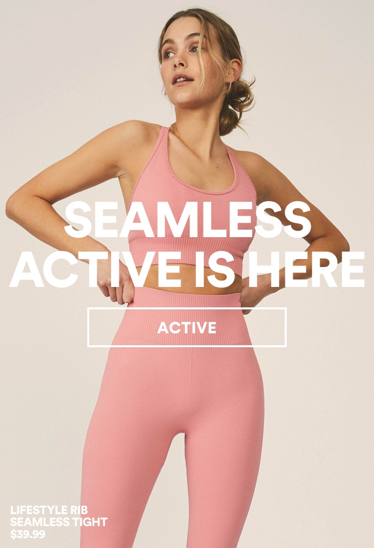 Women's Seamless Activewear. Shop Now.