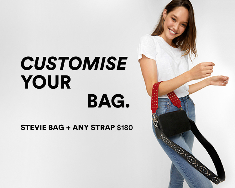 Customise Your Bag. Stevie Bag and Any Strap $180