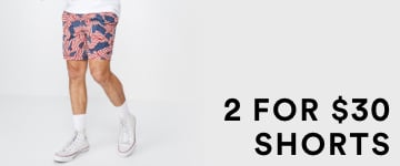 2 for $30 Shorts. Click to Shop.