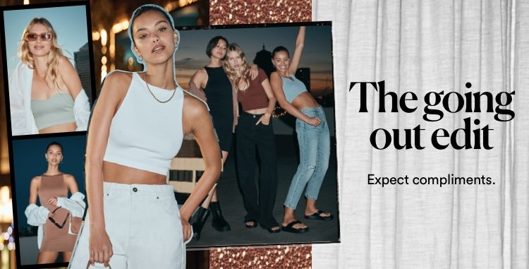 Going out edit. Shop Now.