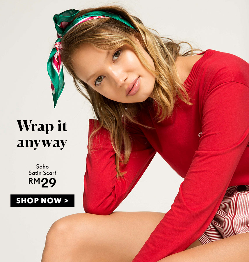 Wrap It Anyway | Shop Rubi Scarves And Accessories