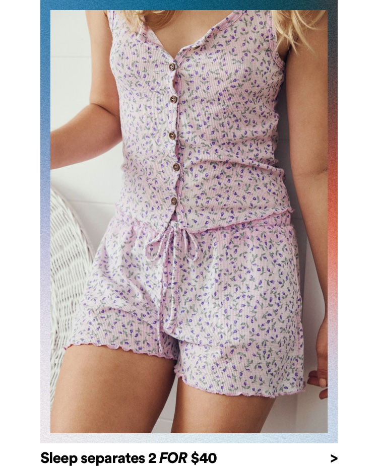 Women's Sleepwear. Click to shop