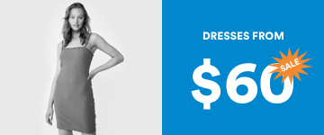 Dresses From $60. Click to Shop.
