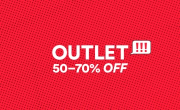 Outlet. Shop Now.