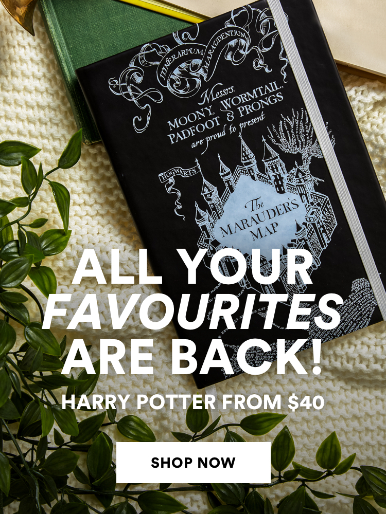 Harry Potter from $40. Click to shop