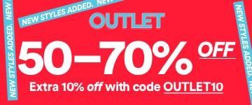 Women's Outlet. 50-70% Off. Shop Now