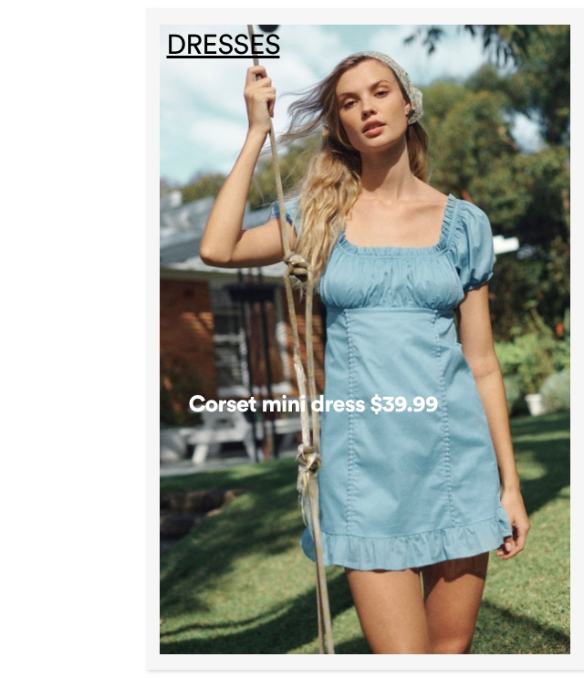 Women's Dresses. Click to Shop.