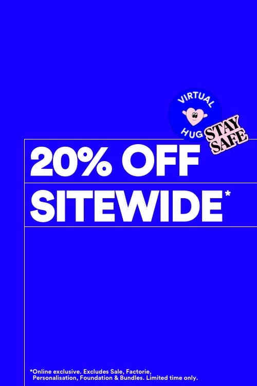 20 percent Off Site Wide Terms and conditions apply.