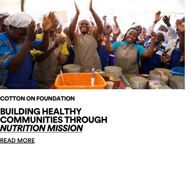 Building Healthy Communities through Nutrition Mission