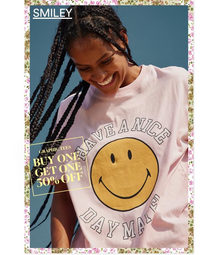 Smiley Collab. Click To Shop