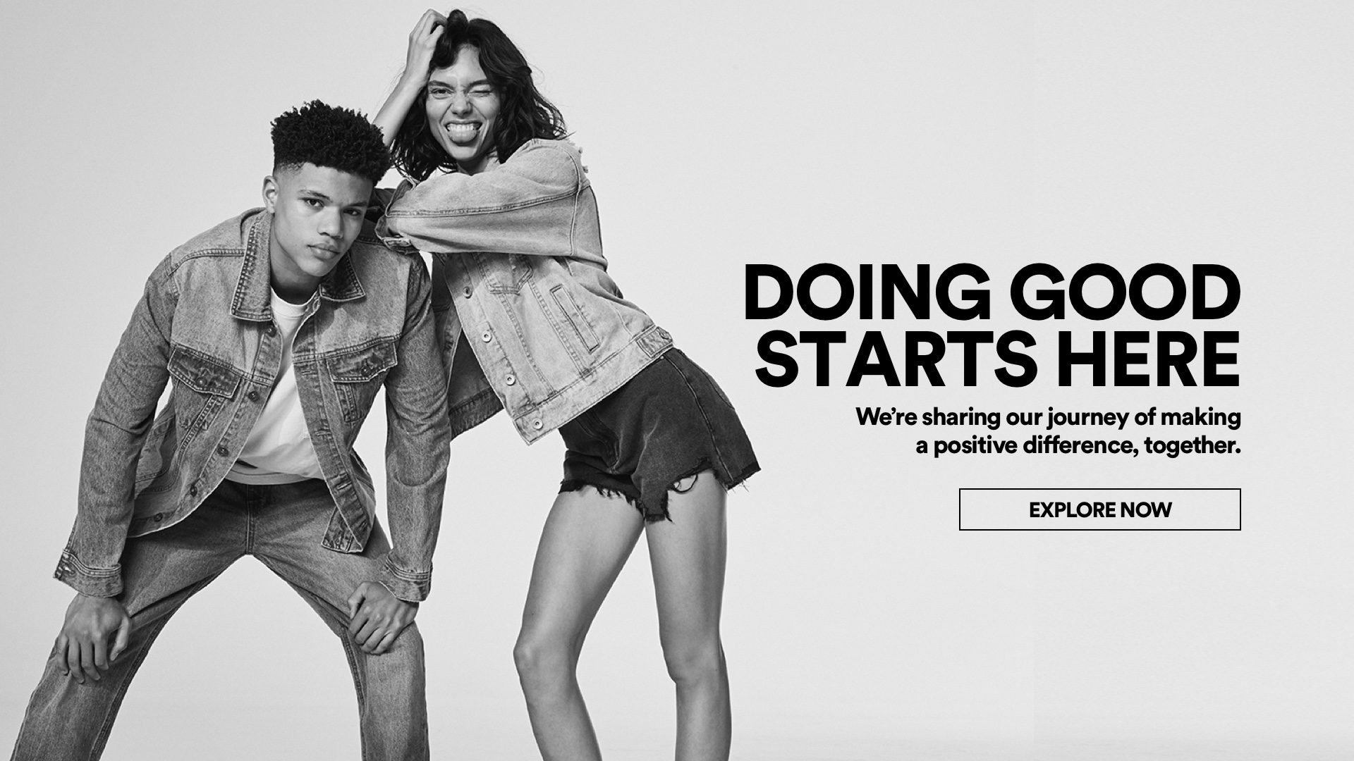 Doing Good starts here. Click for more information.