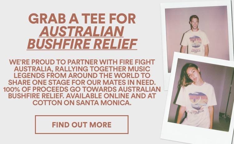 Grab A Tee For Fire Fight Australia. Find Out More