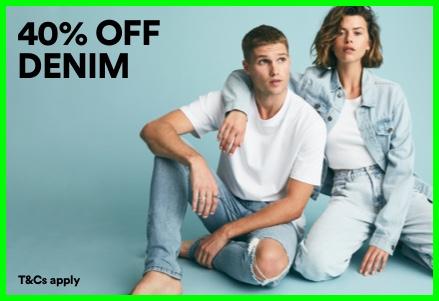 Denim Edit. Click to shop.