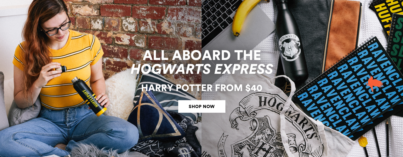 All Aboard the Hogwarts Express. Harry Potter from $40. Click to Shop the Edit.