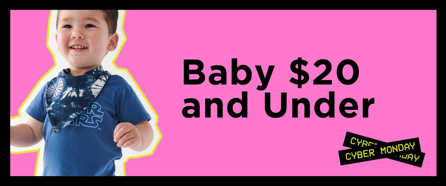 Baby. Shop Now.