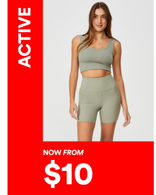 Activewear Now From $10