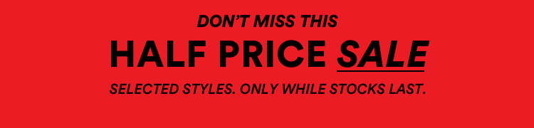 Online Preview. 3 Days Only. 50% Off 1000s of styles.