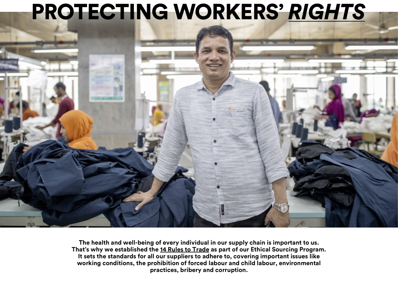 The Good. Protecting Workers rights. Click for more information.