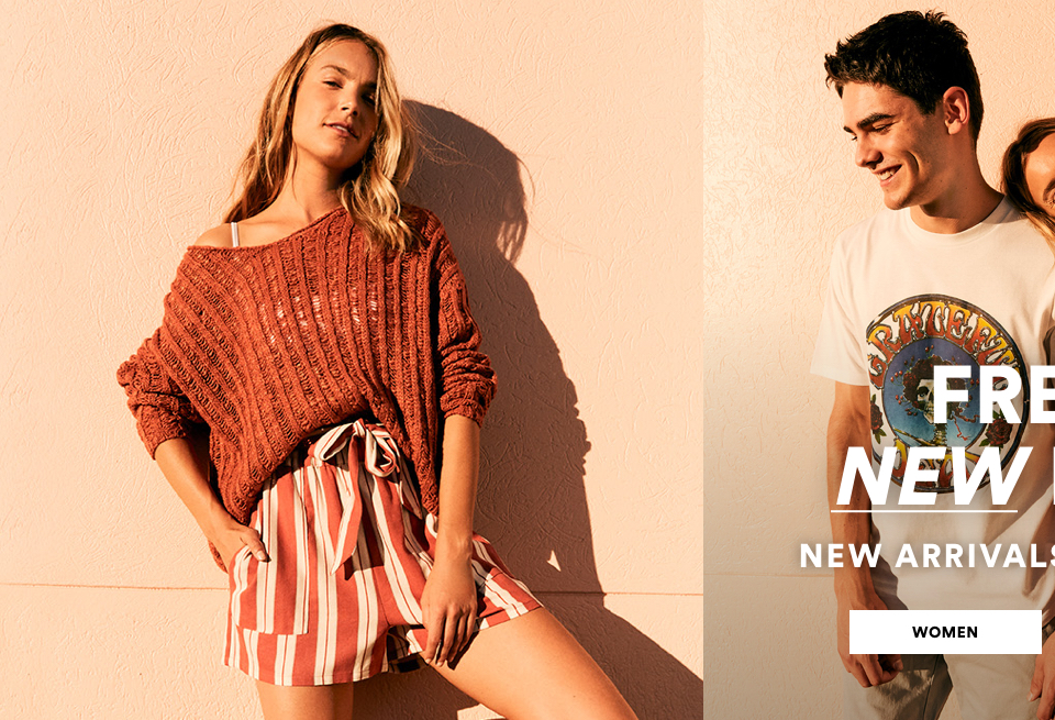Fresh Drop: New Arrivals from $19.99. Shop Womens.