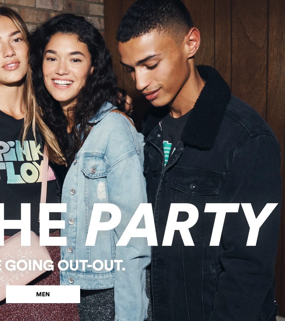 Cotton On. Life of the Party. Click to shop Mens.