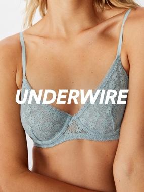 Under Wire Bras. Click to shop.